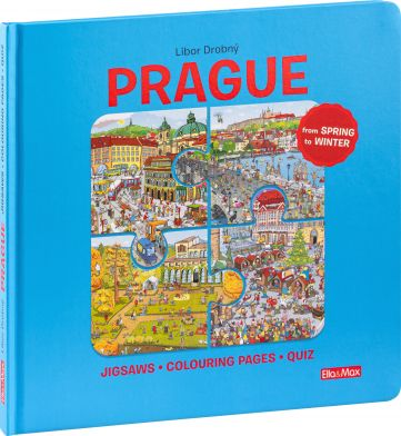 PRAGUE – Puzzles, Colouring, Quizzes